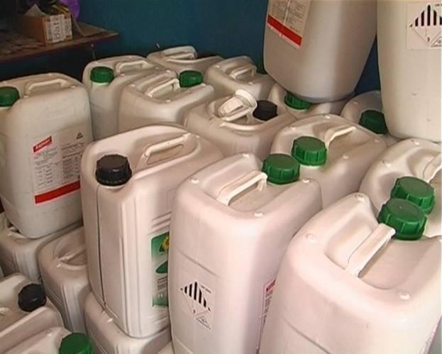 Поддельные пестициды для сельского хозяйства